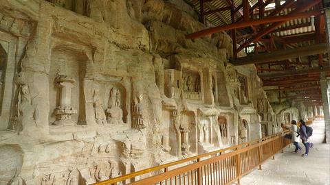 北山石刻的图片