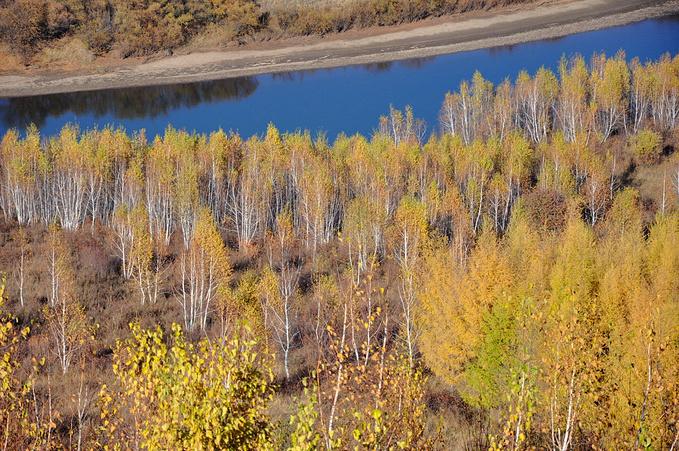 额尔古纳湿地图片
