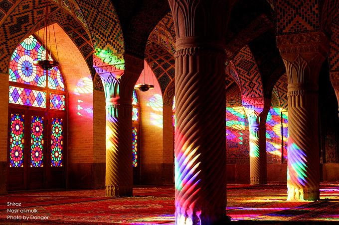 粉红清真寺图片