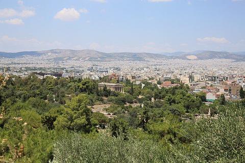 雅典古代市集