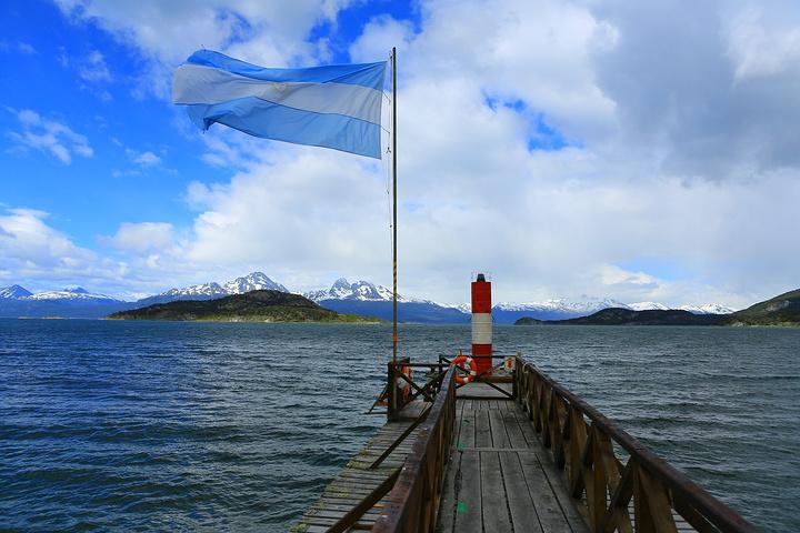 """""""企鹅图案的印章很漂亮_火地岛国家公园""""的评论图片"""