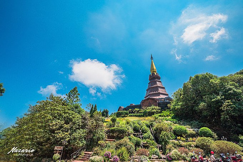 茵他侬国家公园旅游景点攻略图