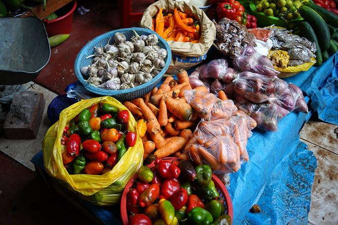 Pisac market集市图片