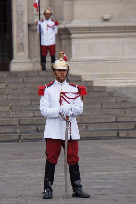 利马总统府图片