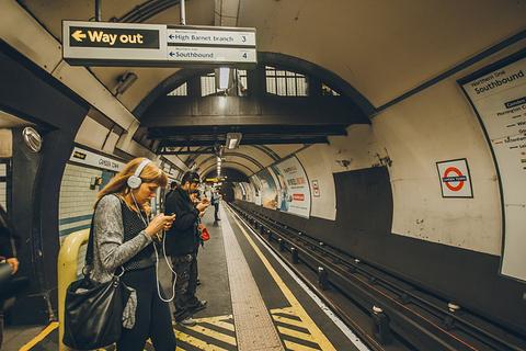 伦敦地铁旅游景点攻略图