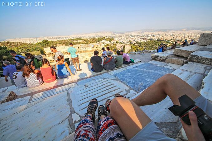 雅典卫城图片