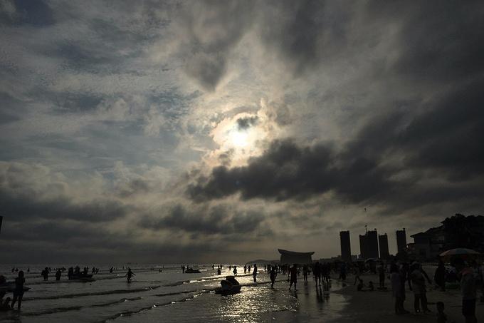 侨港度假浴场图片