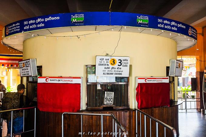 加勒火车站图片