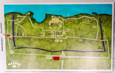 图伦遗址旅游景点攻略图
