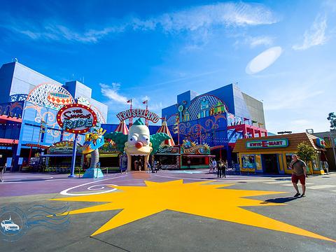 好莱坞环球影城旅游景点图片