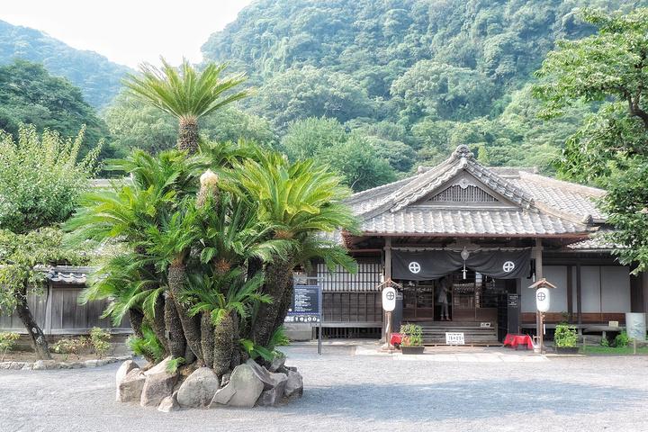 """""""这里的建筑风格受中国的建筑风格影响较大,八角形意喻八卦。_仙岩园""""的评论图片"""