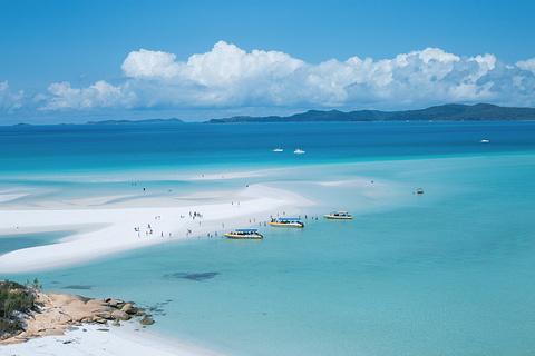 白天堂海滩的图片