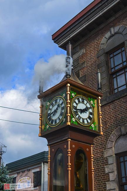 蒸汽钟图片