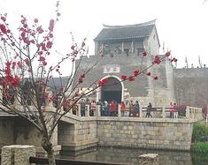 逛窑湾古镇 登第一江山 览古黄河水景