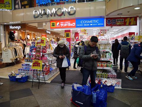 新京极商店街旅游景点攻略图
