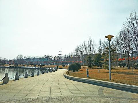 清风湖公园旅游景点图片