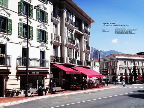 摩纳哥王宫广场旅游景点图片