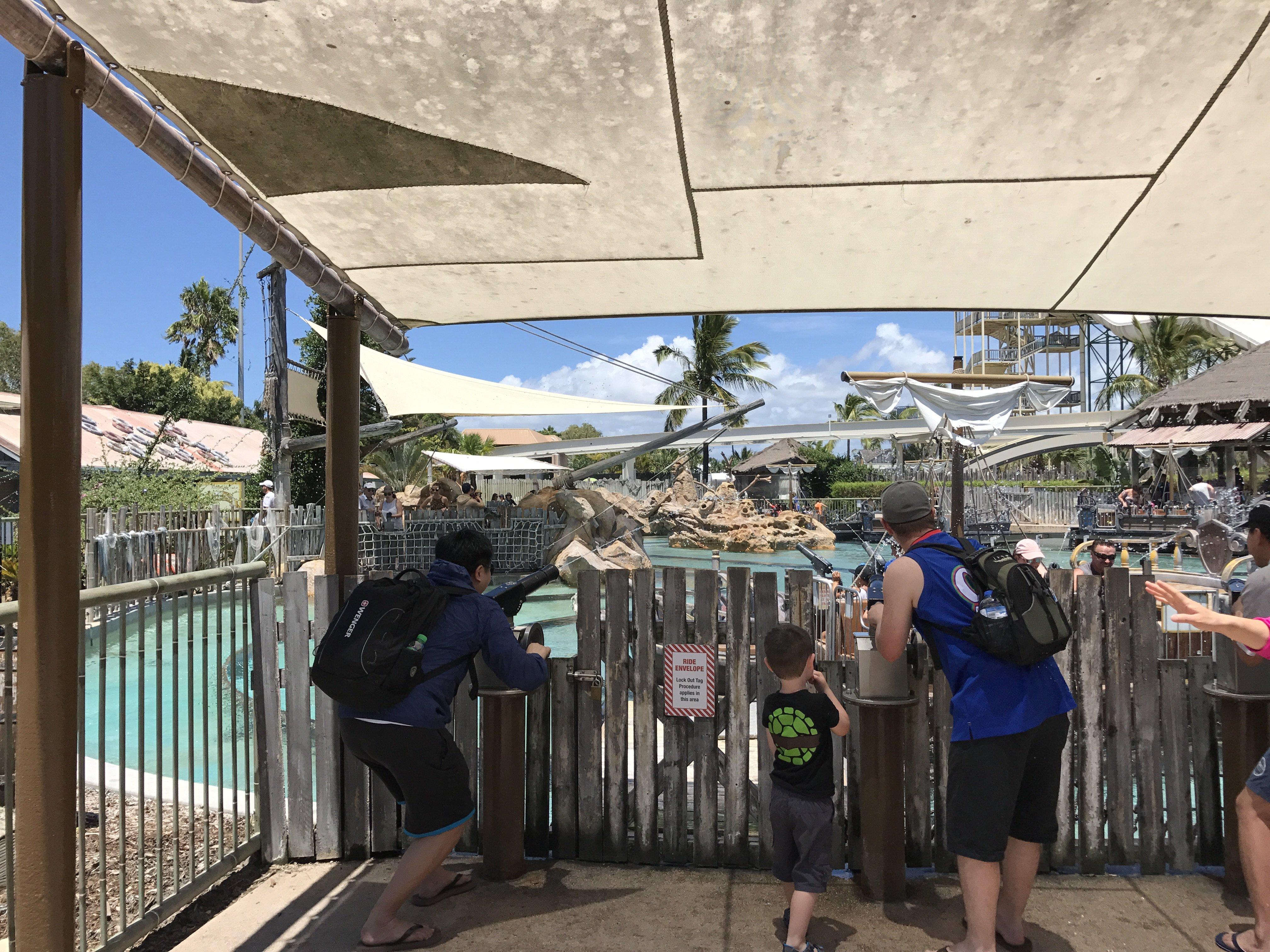 2018黄金海岸海洋世界游玩攻略,海洋世界的门票也是提前在马