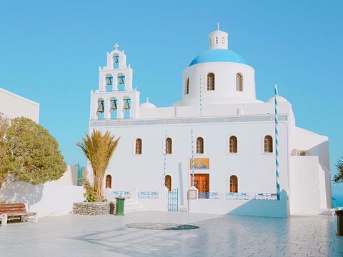 圣托里尼岛旅游景点图片