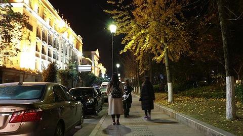 欧陆风情街旅游景点攻略图
