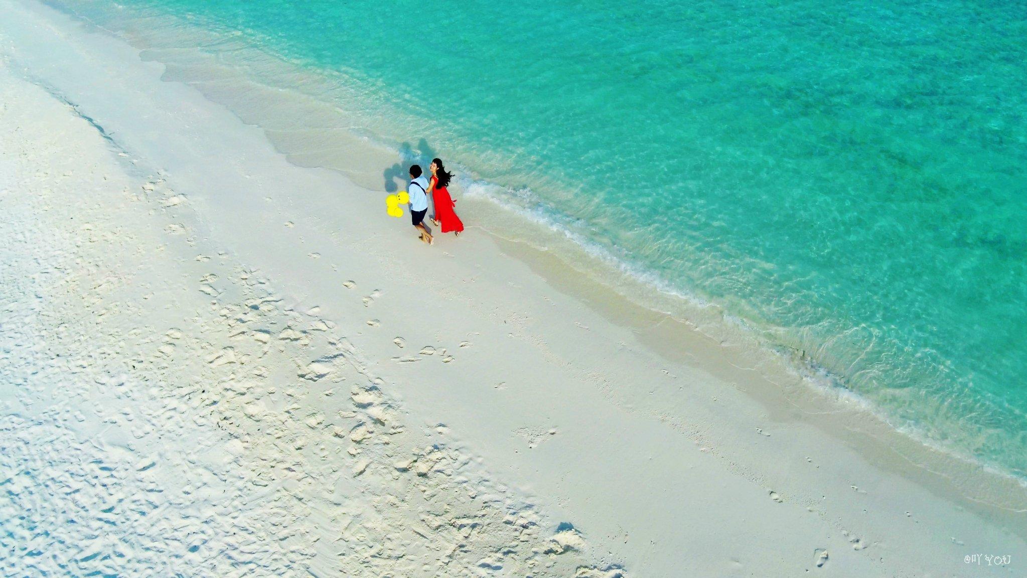 【我们的第一次留在这片海】7日马尔代夫自拍婚纱+3日吉隆坡转机攻略