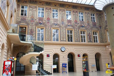 捷克中央邮局旅游景点攻略图