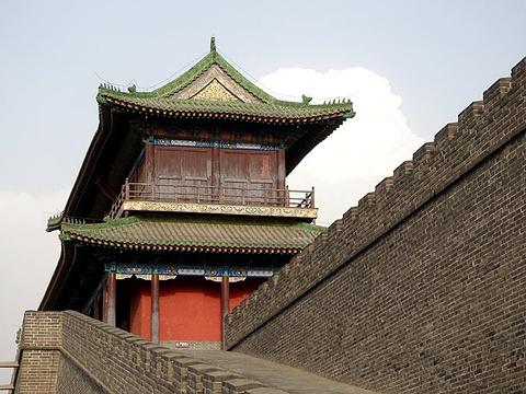 正定古城墙旅游景点图片