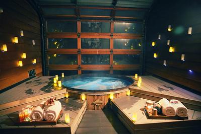 昂森木桶温泉