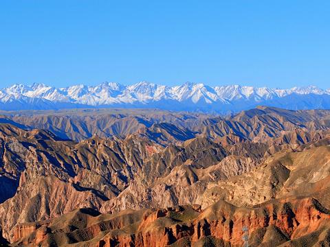 冰沟丹霞景区旅游景点图片