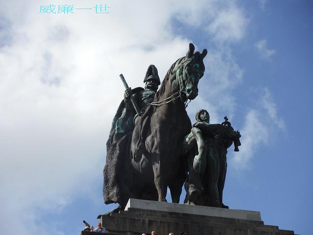 """""""即使身為東方人的我們大概也知道這位統一德意志帝國的皇帝,尤其是他的大將_德意志之角""""的评论图片"""
