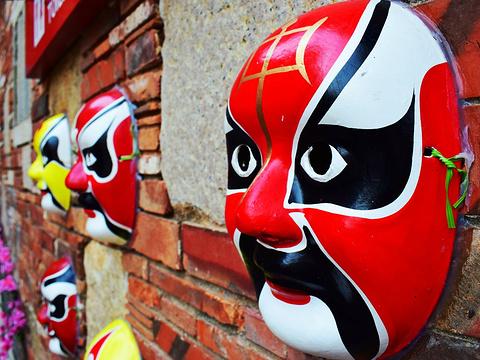 五店市传统街区旅游景点图片