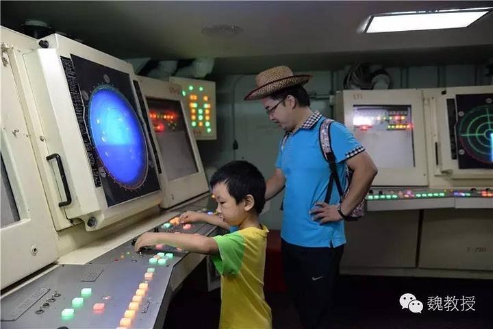 """""""好吧,这么贵的门票,几年内我们是不会再来了,除非20年后带孙子来。我问这个台阶为什么是铁制的活动的_基辅号航空母舰""""的评论图片"""
