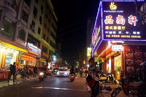 一夜埕海产品特色街