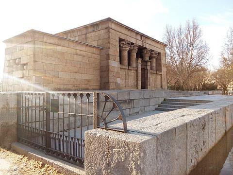 埃及庙旅游景点图片