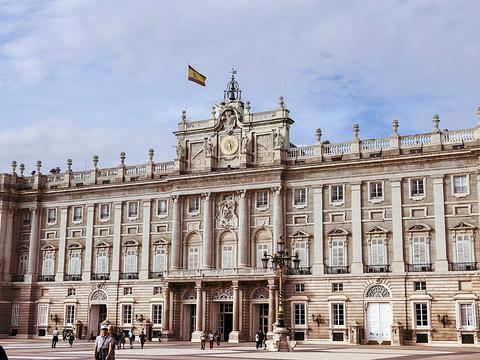 马德里王宫旅游景点图片
