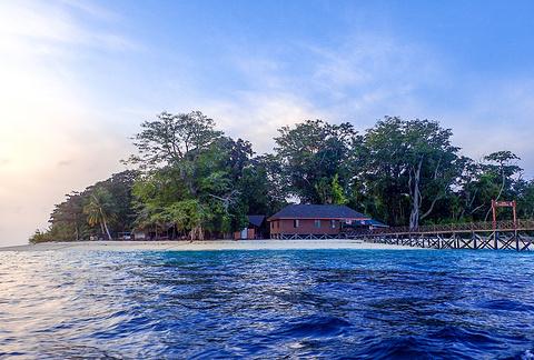 诗巴丹岛旅游景点攻略图