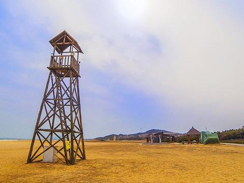 银沙滩海水浴场旅游景点图片