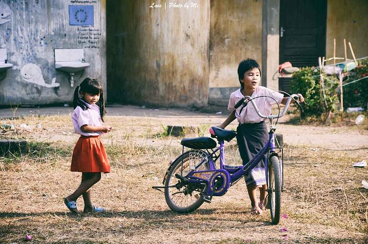 """""""...友,对镜头毫无畏惧感,非常乐于亲近游人,这哪里叫开化,分明是比一河之隔的柬埔寨吴哥窟朴素太多了_东孔岛""""的评论图片"""