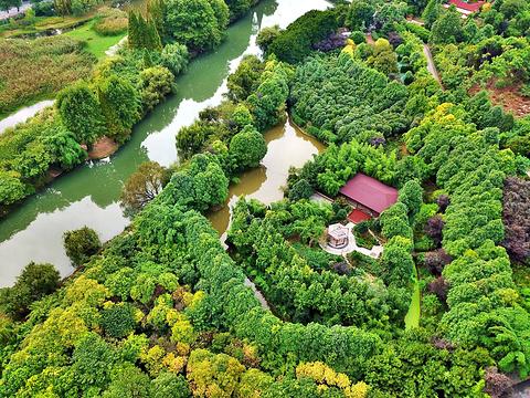 花溪国家城市湿地公园十里河滩景区旅游景点图片