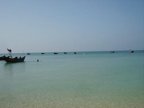 石螺口海滩旅游景点攻略图