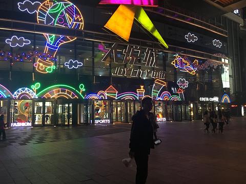 中街商业圈旅游景点攻略图