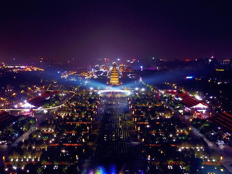 大雁塔北广场音乐喷泉旅游景点图片