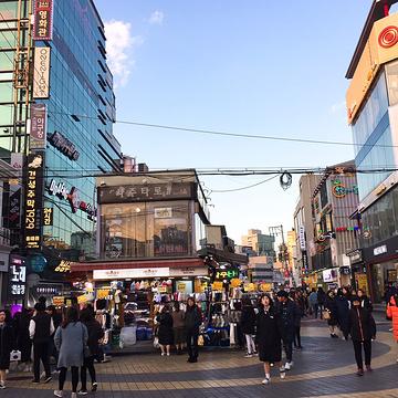 弘大购物区旅游景点攻略图