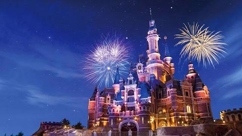 上海迪士尼度假区的图片