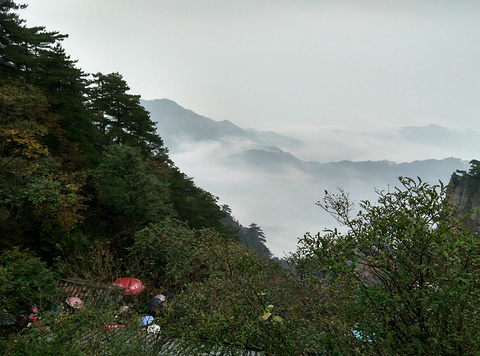 九华山旅游景点攻略图