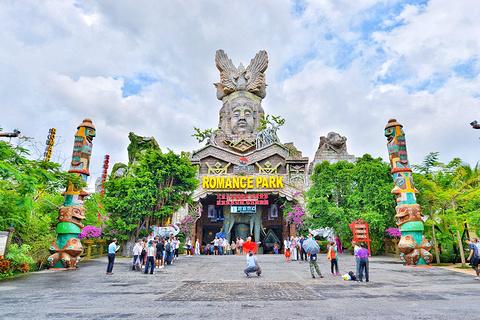 三亚宋城旅游景点攻略图