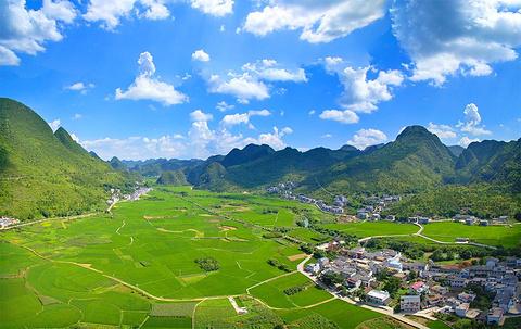 万峰林旅游景点攻略图