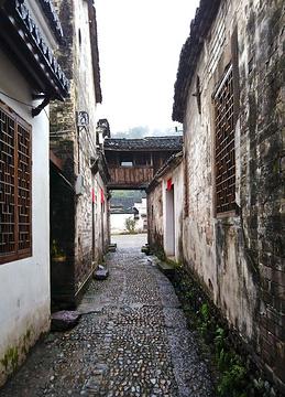 俞源村旅游景点攻略图