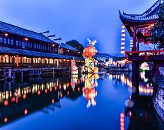 【诗画浙江】在被誉为东方好莱坞的横店,居然也有如此年味的庙会
