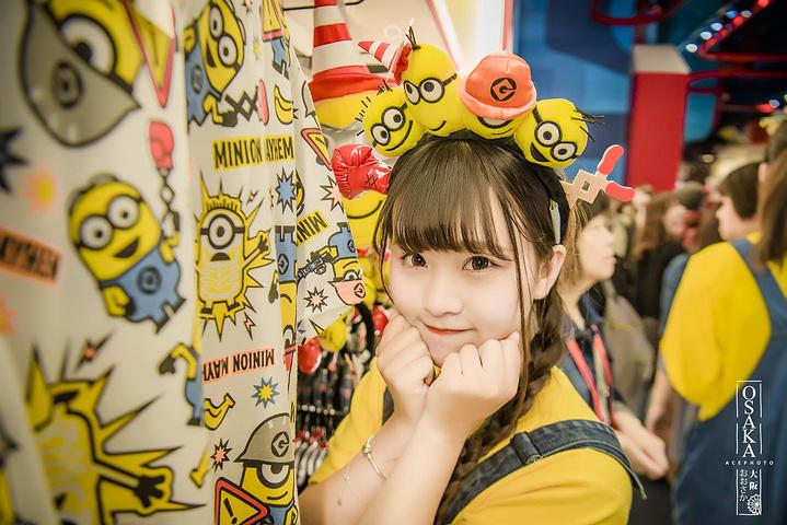 """""""从钥匙扣、杯子、笔再到泡面、棒棒糖,吃的用的好玩的这里一应有尽有。日本环球影城_日本环球影城""""的评论图片"""